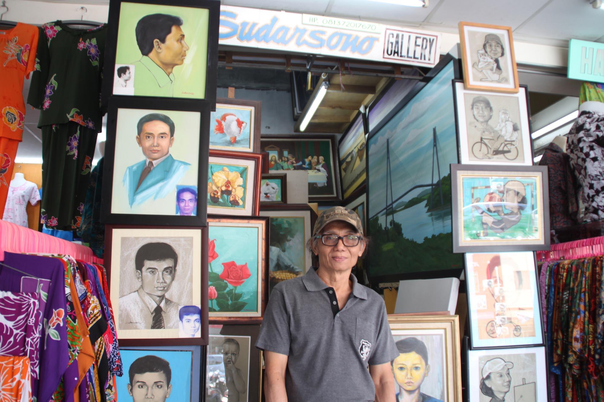 Belajar Melukis Di Sudarsono Gallery Suprizal Tanjungs Surau