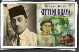 Marah Rusli dan Siti Nurbaya