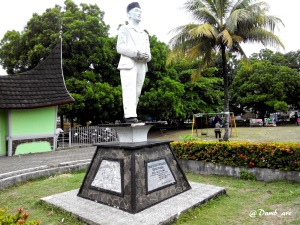 Bagindo Azizchan di Museum Adityawarman Padang